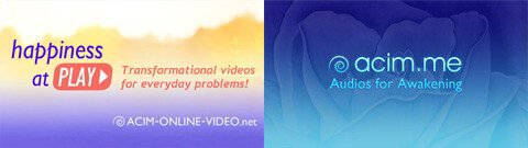 ACIM Video Website and ACIM Audio Website